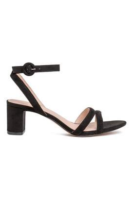 H&M Sandals - Black - Women