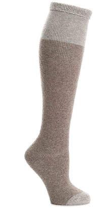 Lemon Colorblock Knee Socks - Women's