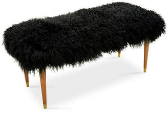 Le-Coterie Curly Abby Bench - Black