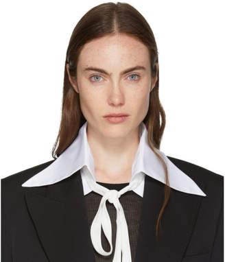 Ann Demeulemeester SSENSE Exclusive Byron Shirt Collar