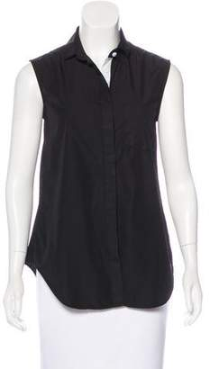 Band Of Outsiders Sleeveless Button-Up Top