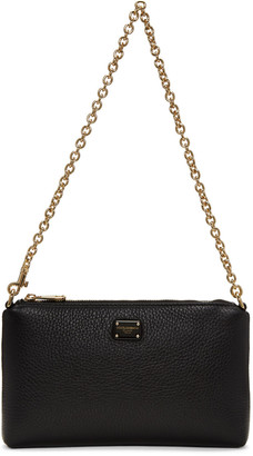 Dolce & Gabbana Black Small Chain Pouch $595 thestylecure.com