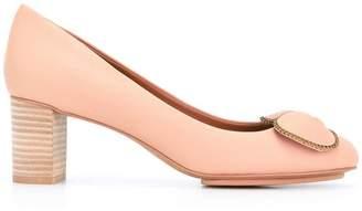 See by Chloe bow front pumps