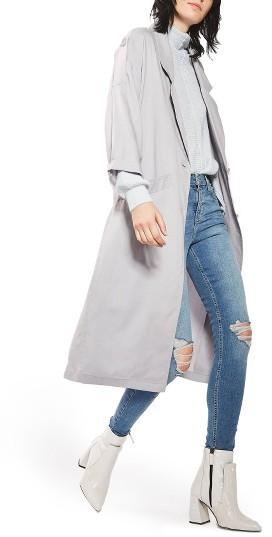TopshopWomen's Topshop Duster Coat