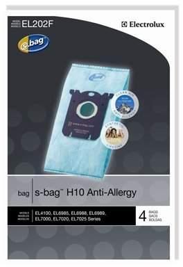 Electrolux Genuine Anti-Allergy s-bag EL202F - 4 bags