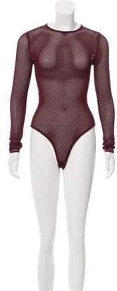 Ronny Kobo Open Knit Bodysuit w/ Tags