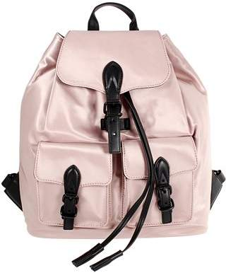 Rebecca Minkoff Alice Ladies Large Satin Nylon Backpack HF17MSIB60