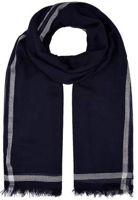 Claudie Pierlot Metallic Trim Scarf