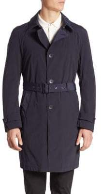 Giorgio Armani Solid Trench Coat