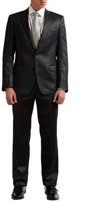 Versace Men's Wool Sparkling Two Button Suit