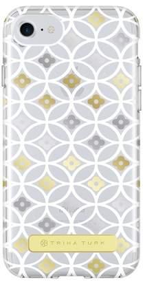 Trina Turk Translucent Apple Phone Case - White\u002FGold - iPhone 6\u002F6S\u002F7\u002F8