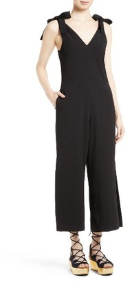 Women's See By Chloe Tie Strap Jumpsuit $475 thestylecure.com
