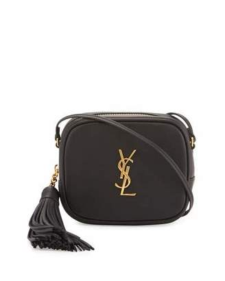 Saint Laurent Monogram Blogger Crossbody Bag $995 thestylecure.com
