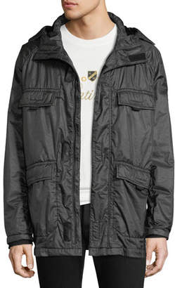 Stone Island Men's Flap-Pocket Hooded Jacket