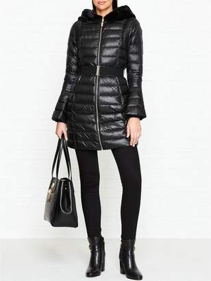 f12317f73252bd at Very Exclusive · Ted Baker Yandle Hooded Down Padded Coat