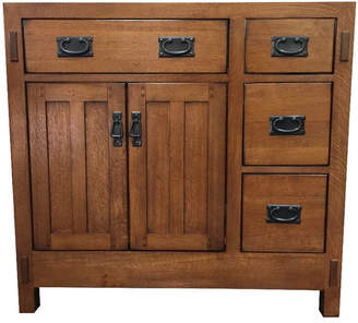 "Sagehill American Craftsman 36"" Bathroom Vanity Base Only"