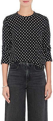 Comme des Garcons GIRL Women's Polka Dot Cotton Jersey T-Shirt $275 thestylecure.com
