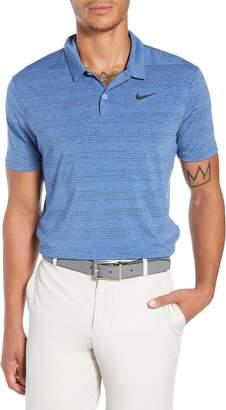 Nike Dry Heather Stripe Polo