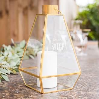 "Cathy's Concepts Cathys Concepts Shine Bright"" Geometric Lantern Table Decor"