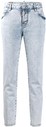 DSQUARED2 straight fit jeans