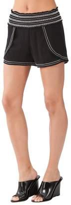 Hale Bob Jaylin Embroidered Gauze Shorts