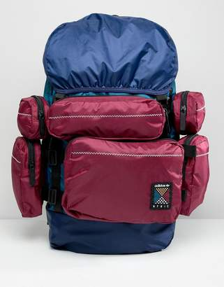 adidas Atric Backpack In Blue CE2372