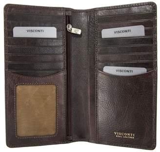 Visconti Tuscany 45 Secure RFID Blocking Genuine Leather Wallet