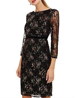 Phase Eight Jules Lace Dress With Sleeve