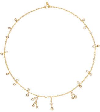 Pippa Small 18-karat Gold Diamond Necklace