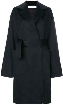 Victoria Beckham single-breasted belted coat