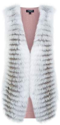Harrods Fox Front Knitted Gilet