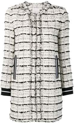 Pinko tweed coat