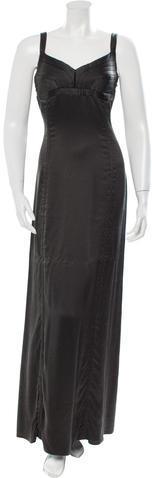 CelineCéline Silk Sleeveless Gown