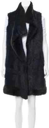 J. Mendel Longline Fur Vest