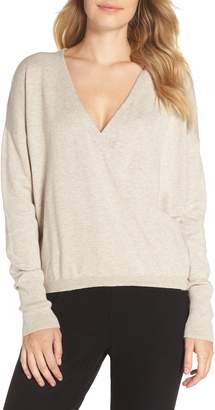 Nordstrom Surplice Front Sweater
