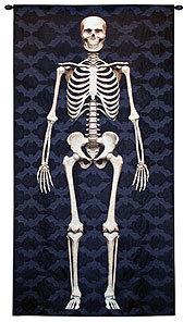 Skeleton Tapestry Wall Hanging