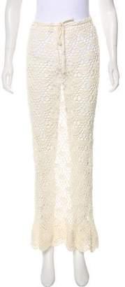 Natalie Martin Crochet Midi Skirt w/ Tags