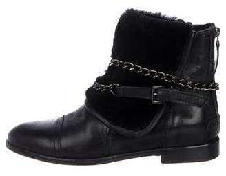 L'Agence Leather Ankle Boots