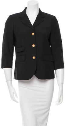 Boy. by Band of Outsiders Wool Notch Lapel Blazer $115 thestylecure.com