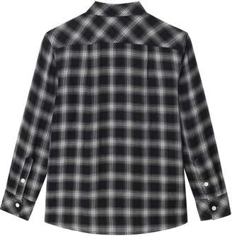 DL1961 Ash Plaid Woven Shirt
