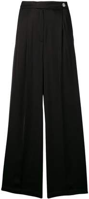 Semi-Couture Semicouture pleated palazzo trousers