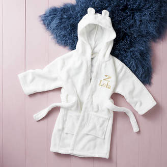 Hooded Towelling Dressing Gown Shopstyle Uk