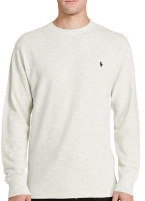 Polo Ralph Lauren Thermal Cotton Crew Shirt