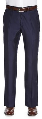 Incotex Super 150s Wool/Cashmere Trousers, Navy $495 thestylecure.com