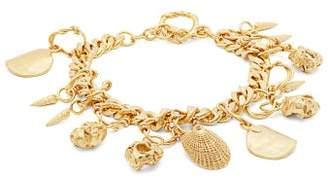 Orit Elhanati - Katjushka Gold Plated Charm Bracelet - Womens - Gold