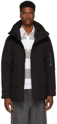 Nanamica Black Down Cape Point Coat