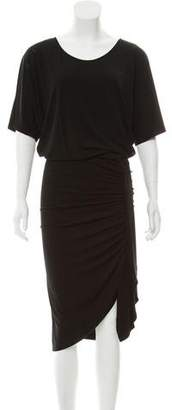Michael Kors Draped Midi Dress