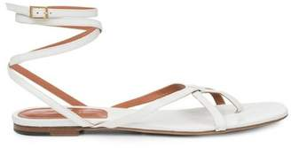 Rosetta Getty Flat Gladiator Sandal