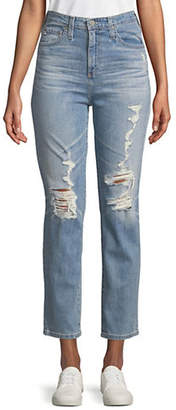 AG Jeans Vintage High-Rise Tapered Leg Jeans