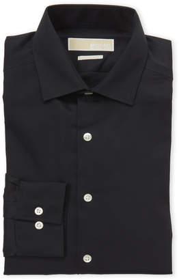 Michael Kors Black Slim Fit Dress Shirt